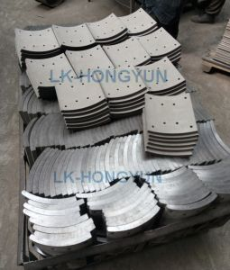Whole Sale Chinese Manufacture Semi Trucks Brake Lining 19486 pictures & photos