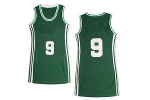 Hot Sell Basketball Jerseys Customized Reversible Royal and White Basketball Jersey Wholesale
