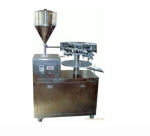 Fwj-4 Aluminium Tube Filling&Sealing Machine pictures & photos