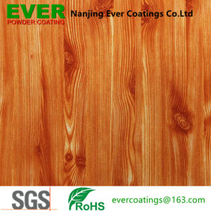 Wood Texture Powder Coating Sublimation Heat Transfer for Metal Products pictures & photos