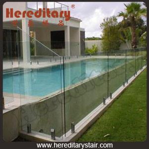 Glass Swimming Pool Fencing (SJ-3210)