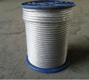 Steel Wire Rope with Different Color PVC Coated pictures & photos