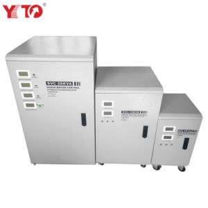 Estabilizadores De Voltaje Voltage Stabilizer with LCD Display 110V/220V 50Hz/60Hz 5kVA/10kVA/15kVA/20kVA/30kVA/50kVA/100kVA