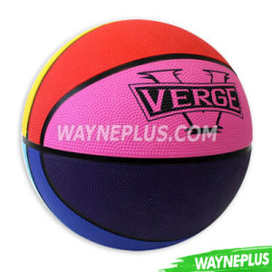 Hot Sale Wholesale Custom Outdoor Indoor Rubber Basketball with En71