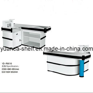 Supermarket Cashier Retail Checkout Counter for Sale pictures & photos
