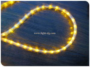 Yellow Round 3wires LED Rope Lights