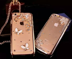 2016 New Arrival Fashion Rhinestone Cell Phone Cover/Case for iPhone5S/5se pictures & photos