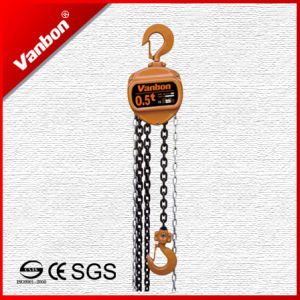 (WBSL-005) 500kg Hand Crane Chain Hoist pictures & photos