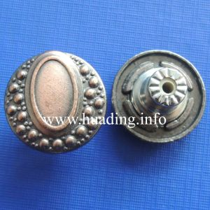 Fabric Metal Shank Button with Fashion Color pictures & photos