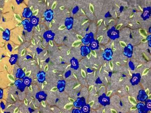 New Design Flower Embroidery Lace Fabric for Women Clothes pictures & photos