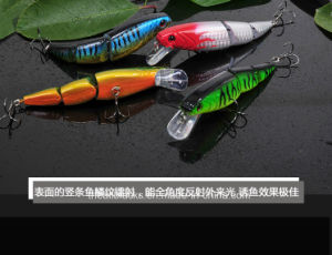 Classic Minnow- Plastic Fishing Lure -Hard Lure -Fishing Bait -Artificial Lure- Fishing Tackle Je pictures & photos