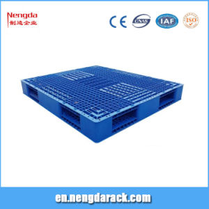 Plastic Pallet for Rack with 4 Ways pictures & photos