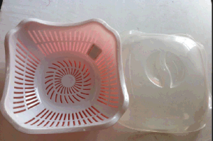 Plastic Tray with Lid Fruit Container pictures & photos
