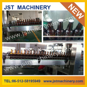 Glass Bottle Crown Cap Beer Filling Machine (BGF18-18-6) pictures & photos