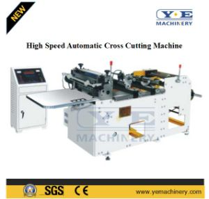 Microcomputer Control High Speed Automatic Cross Cutting Machine pictures & photos