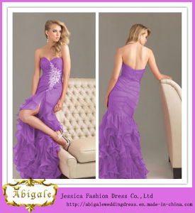 Custom Made Sweetheart Mermaid Zipper Back Foreign Prom Dress (SR37)