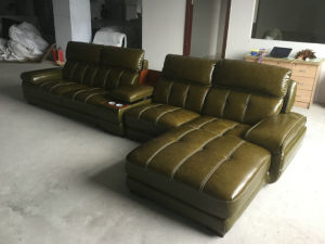 Modern Sofa, Sectional Sofa, Home Furniture, Leather Sofa (A848) pictures & photos