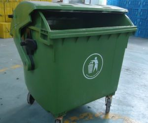 1200L Plastic Garbage Container with Round Lid pictures & photos