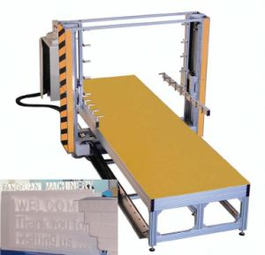 EPS Foam Hot Wire Cutting Machine pictures & photos