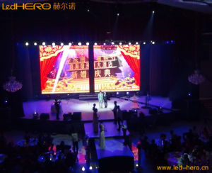 P7.62 Full Color Indoor LED Video Screen pictures & photos