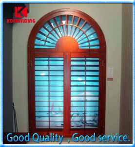 Hot Sale Aluminum Shutter Window with Arch Design