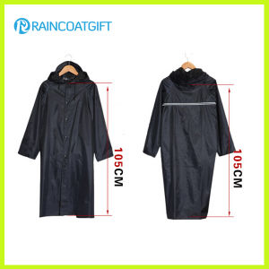 Durable Polyester Men′s Raincoat pictures & photos