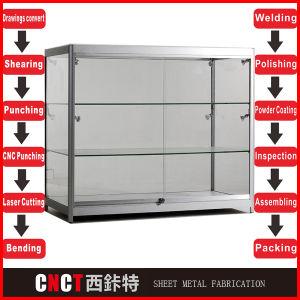 Cheap Pop Aluminum Exhibition Display Shelf Restaurant pictures & photos