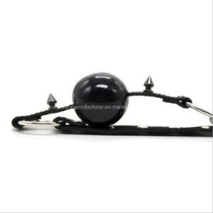 Sexy Leather Bondage Sex Toy Mouth Ball Gag pictures & photos