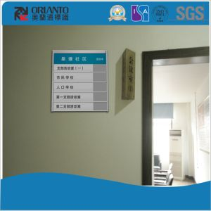 Aluminium Indoor Hospital Flat Sign pictures & photos