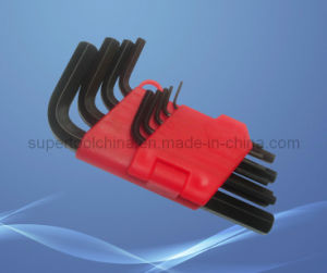 9PC Metric and SAE Black Finish Hex Key (192209) pictures & photos