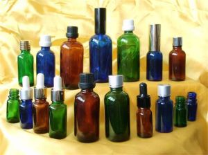 Essential Oil Glass Bottles with Different Cap
