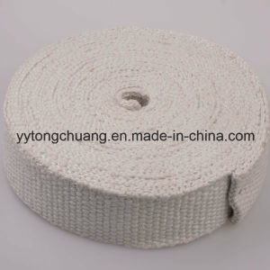 Heat Insulation Materials Ceramic Fiber Tape Coated with Vermiculite pictures & photos