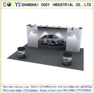 Fold up Display Stand, Straight Pop up Display Stand pictures & photos