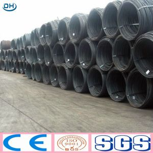 SAE1008 Ms Steel Wire Rod with High Quality Made in China pictures & photos