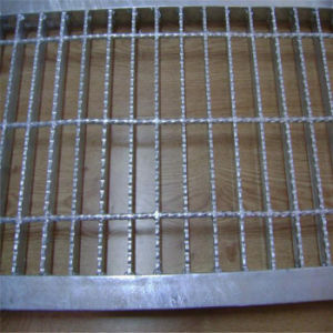 Galvanized Serrated Steel Floor Bar Grating pictures & photos