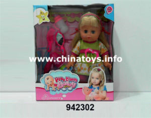 "Promotional New 14""Soft Plastic Doll with PEE (942302) pictures & photos"