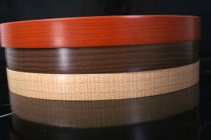Wood Color PVC Edge Banding/Wood PVC Banding pictures & photos
