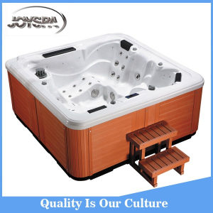 Factory Price Hydro Massage Outdoor SPA with Overflow pictures & photos