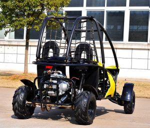 4 Wheeler Gas Electric Go Kart Buggy for Farm (KD 110GKT-2) pictures & photos