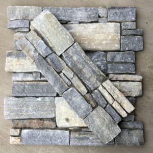 China Natural Blue Quartzite Cement Wall Panel pictures & photos