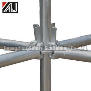 Galvanized Steel Ringlock Scafolding System, Guangzhou Manufacturer pictures & photos