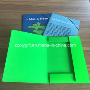 Custom Printing A4 Document Wallet Cardboard File Folder pictures & photos