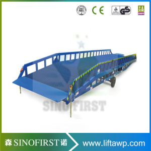 8ton 10ton Warehouse Mobile Container Ramp Dock Ramp pictures & photos
