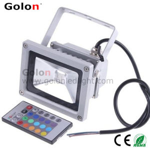 10W RGB LED Flood Lights, IR Remote Controller pictures & photos