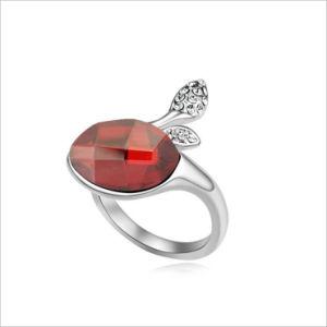 VAGULA Chinese Factory OEM Design Rhodium Plating Diamond Wedding Ring pictures & photos