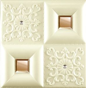 3D Embossed PU Wall 1042 Decoration Panel pictures & photos