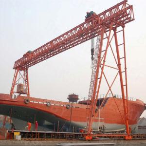 Shipbuilding Double Girder Gantry Crane pictures & photos