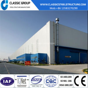 Economic Easy Assembly Steel Structure Warehouse/Workshop/Hangar 2016 pictures & photos