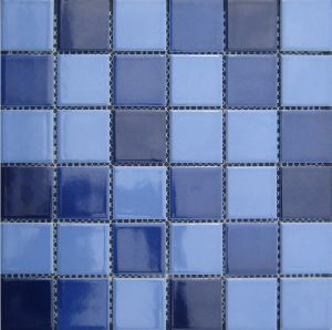 Swimming Pool Ceramic Mosaic (VMC48202 23X23X6mm/48X48X6mm/306X306mm) pictures & photos