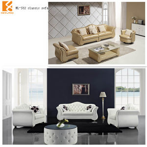 Newland Modern Leather Vintage Style Sofas (NL-S32)